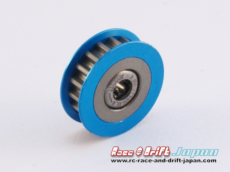 Square One-Way Pulley 18T Blue (SGE-318W)